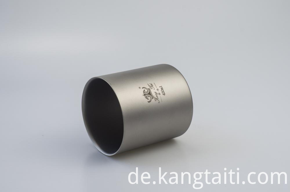 Titanium Double-Wall Cup