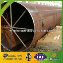 API 5L LSAW soudure tuyau en acier au carbone
