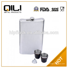 stainless steel hip flask with Multi-process Famous Brand