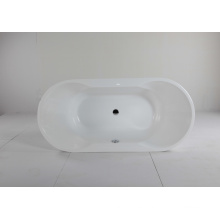 Bañera empotrada acrílica ovalada