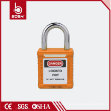 Cadeado curto cadeado de segurança em aço inoxidável (G51)