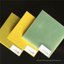 Gelbes 3240 Epoxy Fiberglas Sheet / Board in hoher Qualität