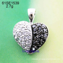 Pingente de prata joia da CZ (61SE1539)
