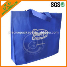 navy blue recycled foldable pp non woven handle bag