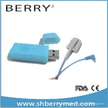 Oxímetro USB com aplicação e software grátis