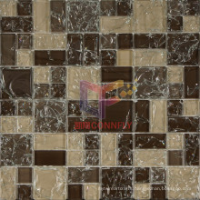 Brown Cracked Crystal Mosaic (CC180)