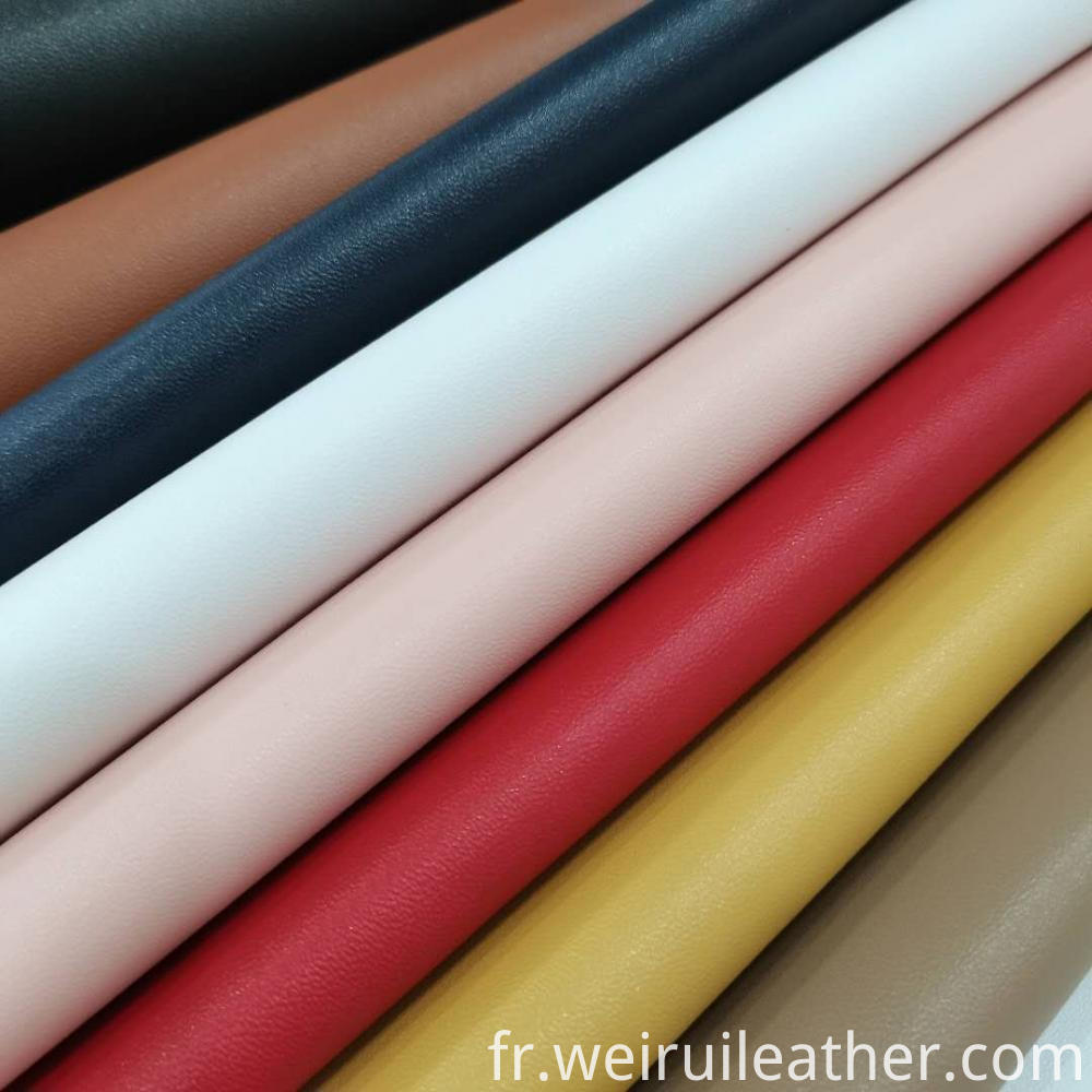 Polychrome Clear Lines Pu Leather