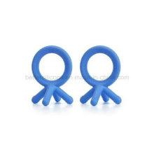 Safe não-tóxico Silicone Baby Teether Brinquedos