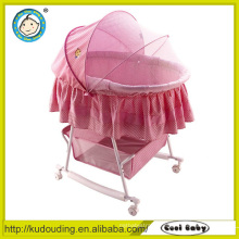 China supplier automatic swing baby crib