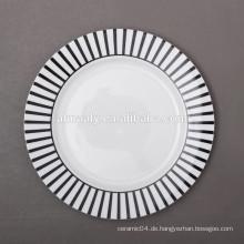 chinesische keramische Platte, Umhüllungsplatte, moderner großer Teller
