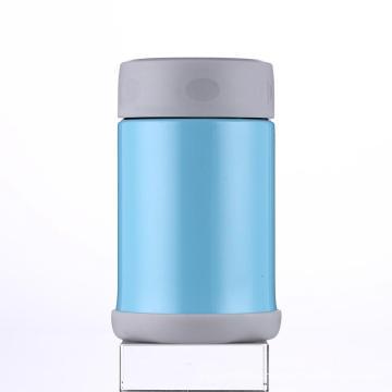 Stainless Steel Vacuum Food Jar Svj-350e Blue