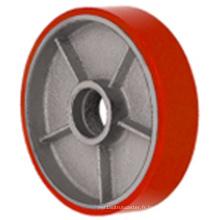 Roulette de roue de chariot élévateur PU (3011)