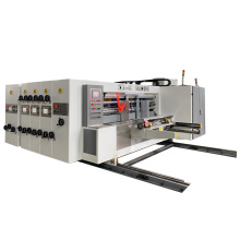 Automatic small printer slotter die cutter for box making machine