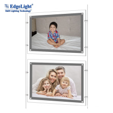 Changeable Crystal photo frame outside estate advertising hanging box outdoor advertising light box