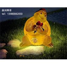 Наружные садовые фонари с черепахой