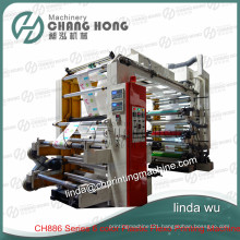 Four Color Best Sale Nonwoven Printing Machine