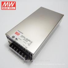 Fuente de alimentación industrial MEAN WELL 600W 12V 50A UL / cUL SE-600-12