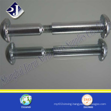 Carbon Steel Male and Female Screw (chicago bolt)