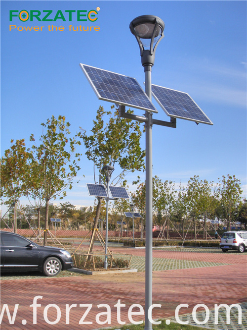 solar led light with lithium battery