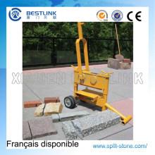 Manual portátil concreto pavimentação bloco e tijolo divisor