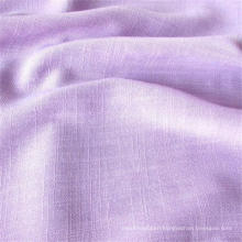 Weft Slub Rayon Fabric for Women Wear