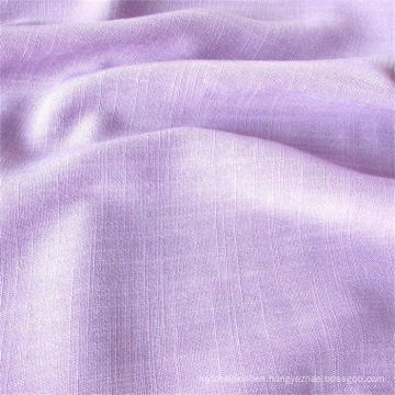 Weft Slub Rayon Fabric for Women Wear