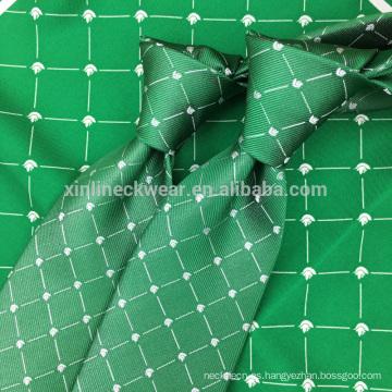 Seda para hombre tejida de alta calidad del telar jacquar de seda de la calidad el 100%