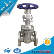 API WCB A216 gate valve ANSI rising stem flanged gate valve