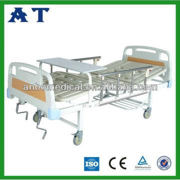 Медицинская ABS тройная складная кровать CE