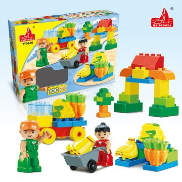 Building Blocks Toys for 3 Year Old Boy
