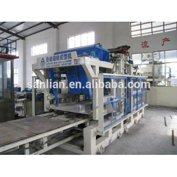 Línea de producción de bloques de concreto totalmente automática de importación de la venta de porcelana para Pakistán