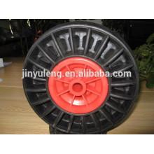 Ruedas de goma sólida de 10,13,14,16 pulgadas para la construcción de carretilla pesada hecha en China