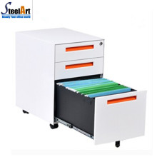 Best sale high quality office furniture three drawer mobile pedestal