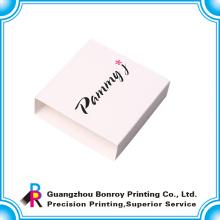 Manga de papel colorida popular popular del diseño del logotipo para la caja