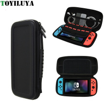 PU couro rígido impermeável bolsa de proteção saco para Nintendo Switch Gamepad caso de armazenamento para Nintendo Switch NS console
