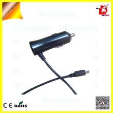 Dazzing Colorized PWM control 5V1A y 5V2A micro USB cable de datos cargador de coche para teléfono móvil Samsung