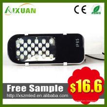 Caliente venta 24w led calle luz lente para led alumbrado público