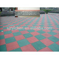 Non-toxic and eco-environment fitness GYM rubber mat, rubber floor tile, GYM mat