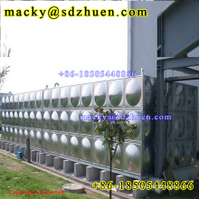 Nice price 20000L food grade panelized ss304 water storage tank for drinking water