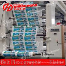 Máquina de impressão HDPE / LDPE / LLDPE / Máquina de impressão Flexo / Máquina de impressão
