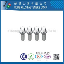 Made in Taiwan High Quality Stainless Steel Wheel Stud Bolts Wheel Lug Bolts