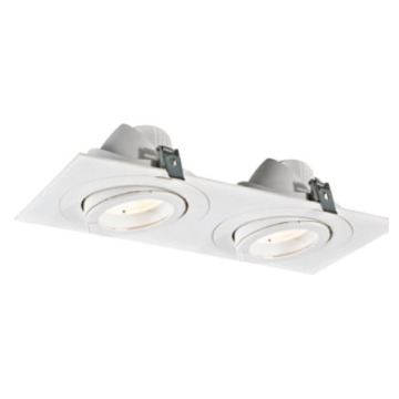 Downlight rectangulaire moderne 30W * 2 LED
