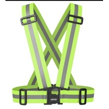 adjustable motorcycle warning reflective belt