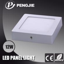 Hot Sale 12W LED Surface Panel Light com CE (Square)