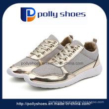 Latest Women Fashion Canvas Shoes Ladies Shoe