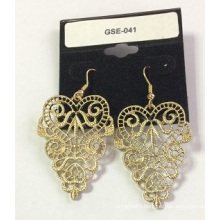 Wedding Jewellery Lace Earring with Metal