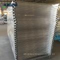 valla de aluminio retráctil al aire libre cerca de subida