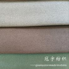 Tecido de sofá de veludo curto pilha estofados