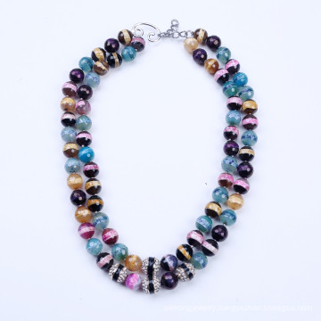 Colorful Stone Summer Necklace