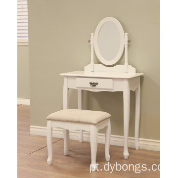 French Home Furnishing Ivory finish Vanity Set